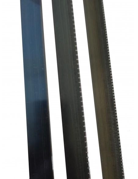 Filete acero corte, perforado y hendido