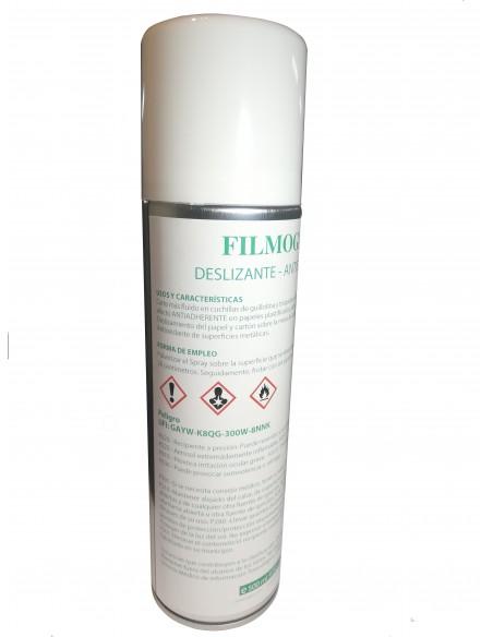 Sprays para guillotina deslizantes y antiestáticos